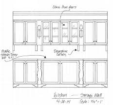 kitchen cabinet diagram awesome kitchen cabinet design drawing gallery best inspiration