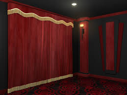 Home Theater Blackout Curtains Bold Ideas Home Theater Curtains Standard Home Theater Curtains