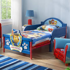 Toddler Bed With High Sides Nickelodeon Paw Patrol 3d Toddler Bed Toys