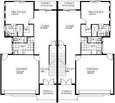 two story duplex house plans amazing house plans