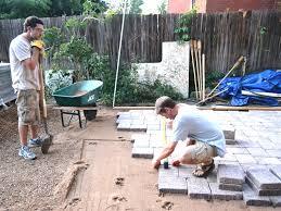 Concrete Paver Patio Ideas by Patio 29 Installation Basalite Pavers On Patio Ideas Basalite