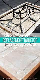 Patio Table Legs Replacement Parts by 25 Unique Glass Table Top Replacement Ideas On Pinterest Patio