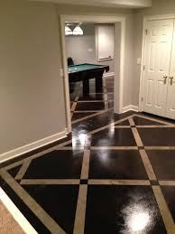 Tiling On Concrete Floor Basement by 118 Best Basement Floor Ideas Images On Pinterest Basement Ideas