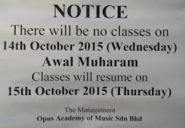 dear parents students please be informed that there will be no