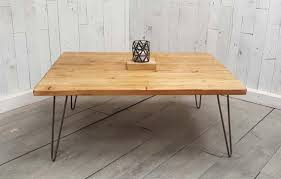 vintage hairpin table legs reclaimed rustic coffee table hairpin leg vintage hairpin leg