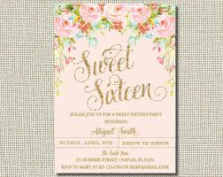 arabian nights invitation sweet sixteen invite genie in a