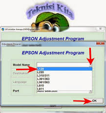 cara resetter l220 video tutorial how to reset printer epson l120 l220 l310 l311