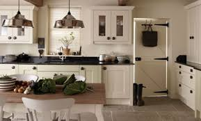 Black Countertop Kitchen by Cream Kitchen Cabinets With Black Countertops You Should Install
