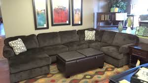 living room furniture reviews ashley furniture jessa place sectional 398 review youtube