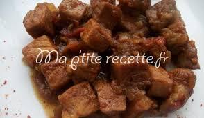 cuisiner sauté de porc sauté de porc au miel recette plat porc