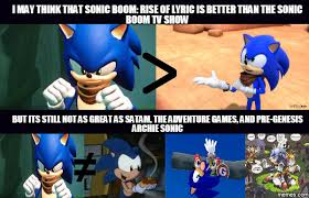 Sonic Boom Meme - clearing things up on my end by nintrendodude on deviantart