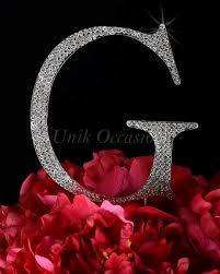 g cake topper unik occasions large silver unik occasions rhinestone