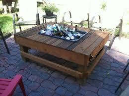 Patio Cooler Table Mobiliando Sua Varanda E áreas De Lazer Pallets Garden Table