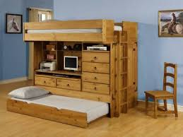 Pictures Of Bunk Beds With Desk Underneath Wooden Bunk Beds With Desk