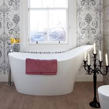 Designer Bathroom Wallpaper by Bathroom Colour Schemes Ideal Home
