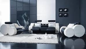 White Reclining Sofa Contemporary Black And White Reclining Sofa Set New York Ny