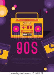 poster music 90s 80s template vector u0026 photo bigstock