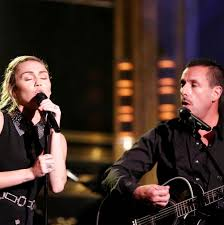 miley cyrus and adam sandler cover dido u0027s u0027no freedom u0027 to