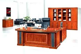 real wood office desk solid oak office desk dark wood desk wood desk with hutch office