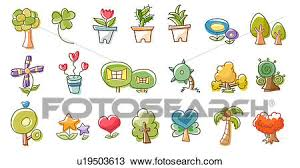 different types of trees drawing of close up of different types of trees u19503613 search