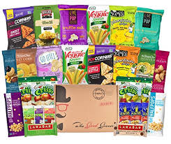 college student care package gluten free and vegan healthy snacks care package 28 ct bars