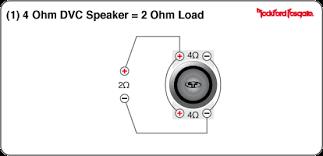 how do i wire my type x into 2 ohm load ecoustics com