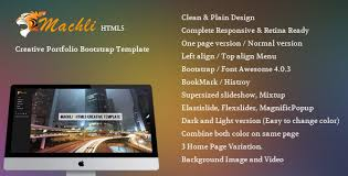 left menu templates from themeforest