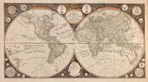 Map Of The New World by World Map 1799 Jpg