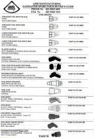 amr manufacturing gasmaster ignition leads