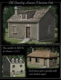 old country houses xtension pak 3d models and 3d software by daz 3d