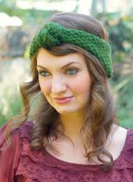 knotted headband knitted vintage inspired knot headband craft