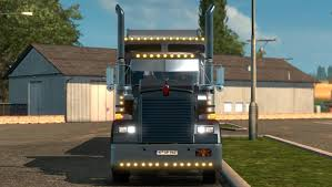 kenworth w900 parts kenworth w900 long 1 18 truck euro truck simulator 2 mods