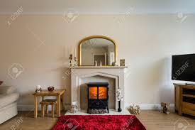 Room Fireplace Fireplace In Living Room Modern Living Room With Log Burner