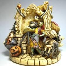 halloweentown nightmare before hollow box re glued