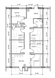example of floor plan drawing medical office design plans advice