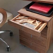 rollcontainer echtholz cubus schreibtisch einfach erweiterbar und aus naturholz team 7