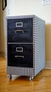White Vertical File Cabinet by 51 Best File Cabinet Makeovers Images On Pinterest Filing