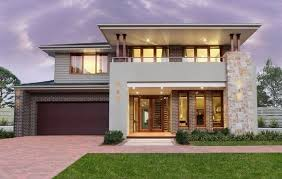 modern brick house tile with oak cabinets mid century modern home exterior modern