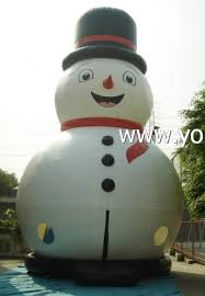 Frosty The Snowman Outdoor Decoration Yolloy Frosty The Snowmen Blow Up For Sale