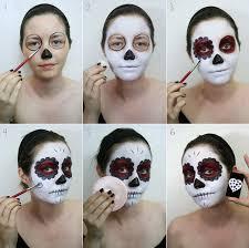top 10 last minute makeup tutorials for halloween sugar skull