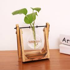 online shop vintage style glass tabletop plant bonsai flower