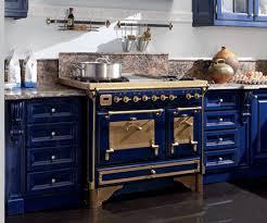Blue Kitchen Design Stove Blue Kitchen Cabinets Kitchens Design Ideas