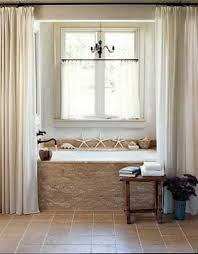 Curtain Ideas For Bathroom Windows Curtain Bathroom Window Curtains Contemporary Modern For Ideas