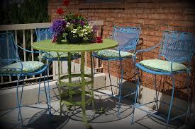 Metal Patio Furniture Paint - modern painted patio furniture with use painted metal patio