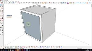 Making Kitchen Cabinets by Making Kitchen Cabinets In Sketchup 2017 Youtube