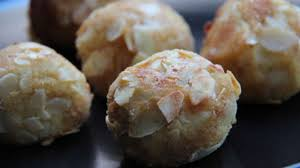 amandine cuisine pommes amandine à la friteuse ou au four recette par cuisine