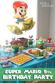 mario birthday party a mario 5th birthday