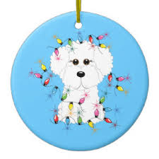 bichon puppy ornaments u0026 keepsake ornaments zazzle