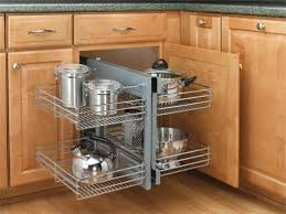 Kitchen Cabinet Storage Options Entranching Minimalist Corner Kitchen Cabinet Storage Solutions