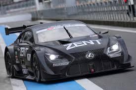 lexus rc f gt500 photos lexus rc gt500 race car in matte black lexus